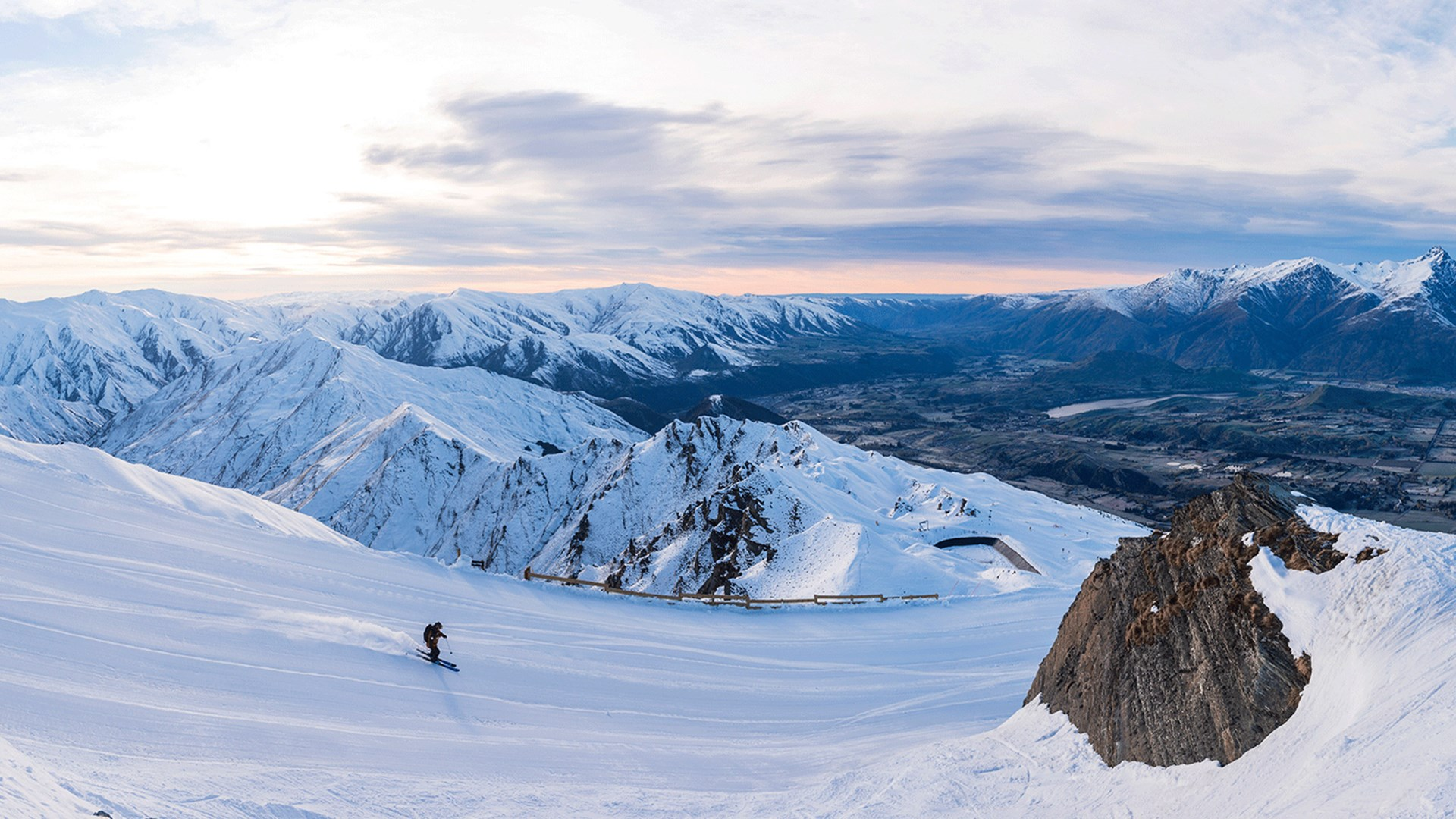 Coronet Peak, ski Queenstown