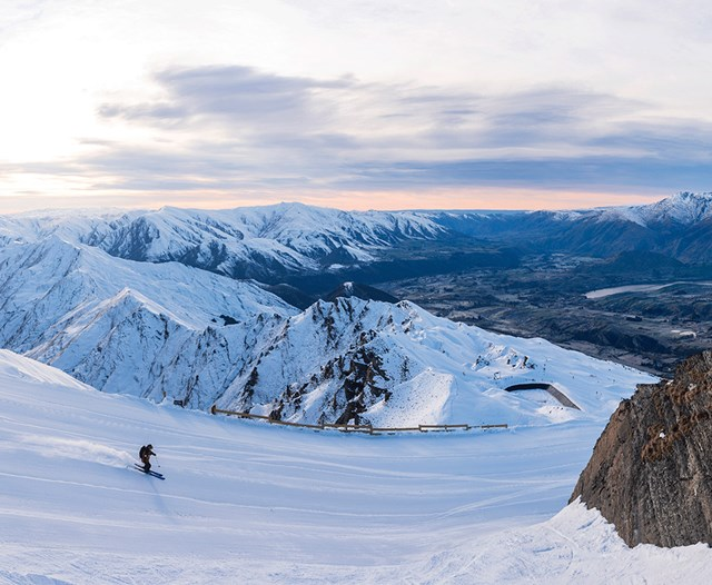 Coronet Peak, ski Queenstown